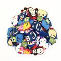 Wholesale 50pcs Random Mixed Lilo Stitch Minnie Shoe Decoration Shoe Charms fit Children Shoes Accessories Birthday