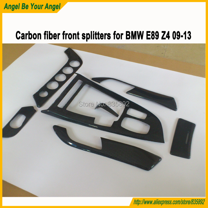 2013 Bmw Z4 Interior: Carbon Fiber 7pcs/set Interiors Mouldings Car Inner Trims