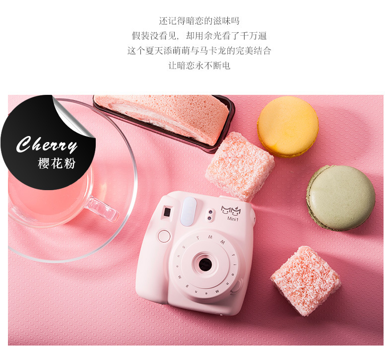 Fashion colorful camera Design power bank 10000mah External Battery Backup Powerbank charger for iphone5s 6s samsung s5 s6