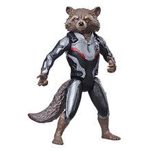 Endgame 30 centímetros Vingadores Marvel Guardians Of the Galaxy Spiderman Valkyrie Star-Lord Rocket Raccoon Action Figure Toy para crianças(China)