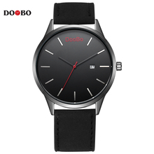 Buy Fashion Casual DOOBO Men's Sports Quartz Watches Mens Watch Top Brand Luxury Leather Wristwatches Relogio Masculino Montre Homme for $7.99 in AliExpress store