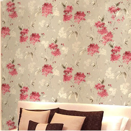 Floral wallpaper for walls for Pink wallpaper for walls