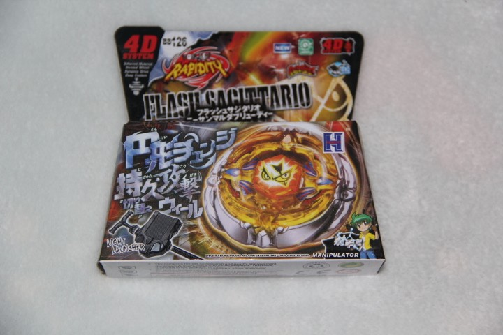 4D hot sale beyblade 1pcs Beyblade Metal Fusion 4D set FUSION HADES ...