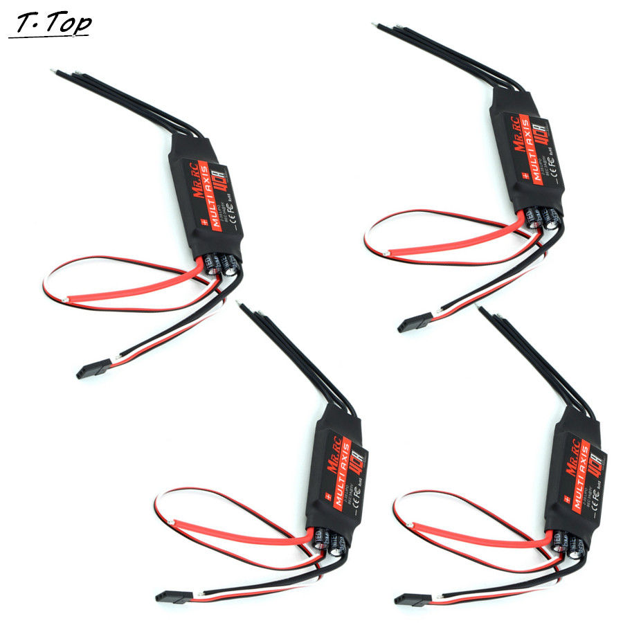 4pcs a lot MR.RC 40A ESC Speed Controller BEC EMAX Hobbywing for FPV RC Quadcopter Airplane(China (Mainland))