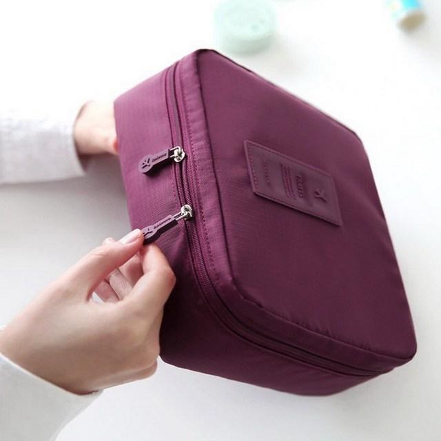 Waterproof Portable Cosmetic Case