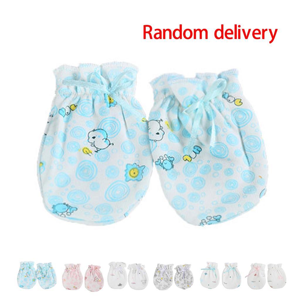 Царапки для девочек Unbrand 100% 0/6 baby gloves