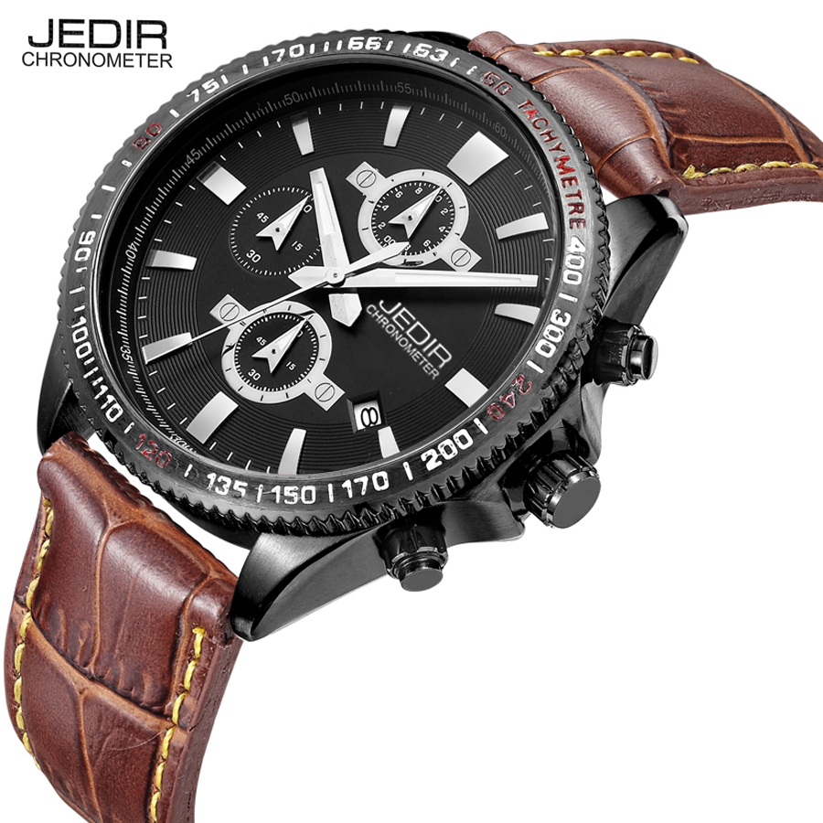 relogio masculino 2016 jedir high quality mens watches top