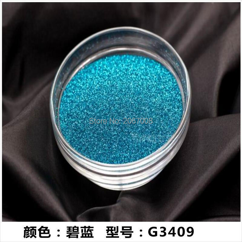 Glitter powder sky blue color Colour Laser Matte Lu plastic Colorful Symphony - complete specifications(China (Mainland))