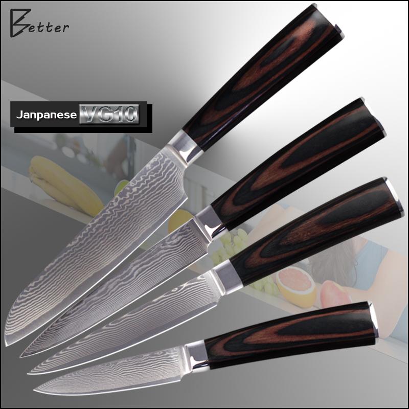 good qualitydamascus knives 5 quot 5 quot 5 quot 3 5 quot small knives set