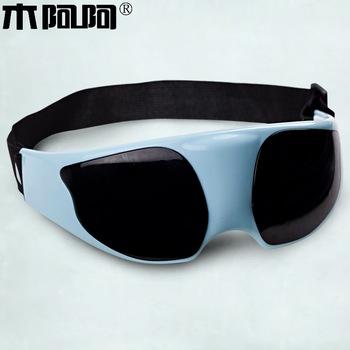 Wood eye massage goggles well black eye blindages eye massage device