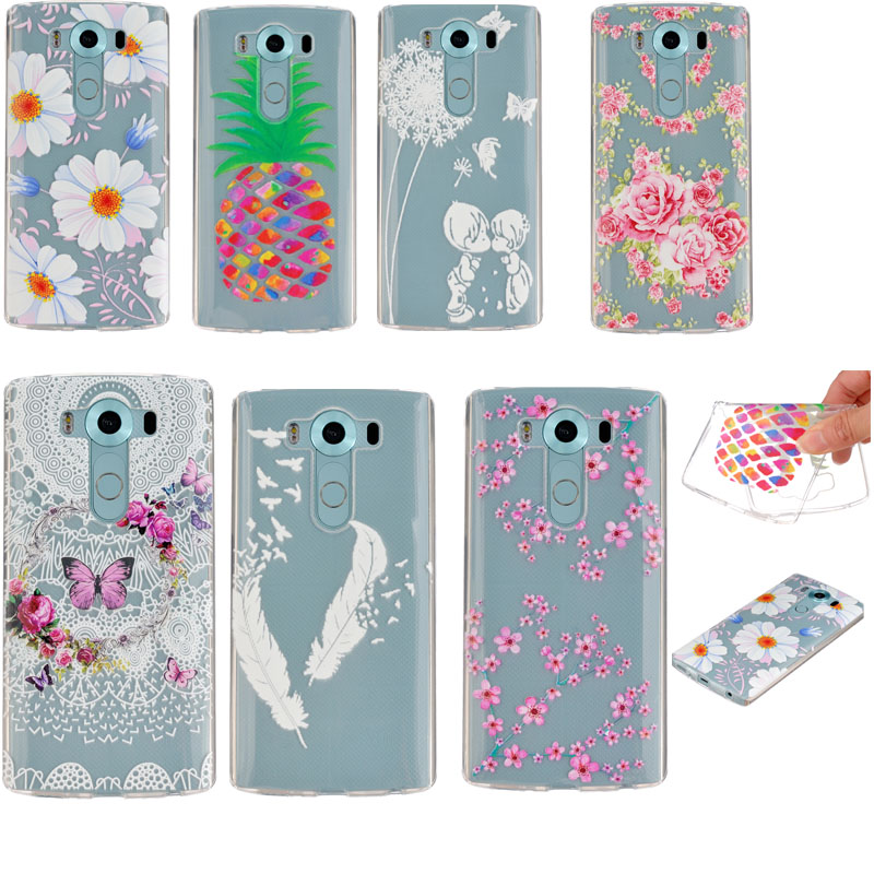 For LG V10 Case Silicon Cover Back Shell Protective Phone Cases For LG V10 F600 Smartphone Accessories F600 Capa De Para 1PCS(China (Mainland))