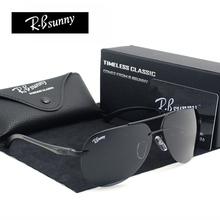 Polarized Lens Sunglasses Men Driver Mirror Sun glasses Male Fishing Female Outdoor Sports Aluminum Magnesium(China (Mainland))