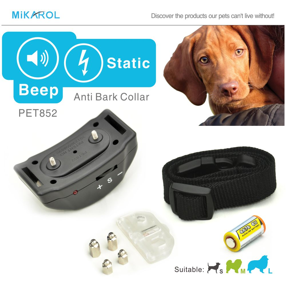 Anti barking collar small dog electronic shock collar stop bark control terminator electric for puppy dogs(China (Mainland))
