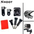 9 in 1 Gopro accessories set Storage bag chest strap Bicycle bracket kit headband and Self stick for SJ4000 SJ5000 Xiaomi Yi