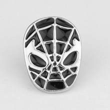 SG Avengers Bros Iron Man Tony Stark Aku Cinta Anda 3000 Kali Thor Flash Captain America Super Hero Mask Pin pria Mantel Perhiasan(China)