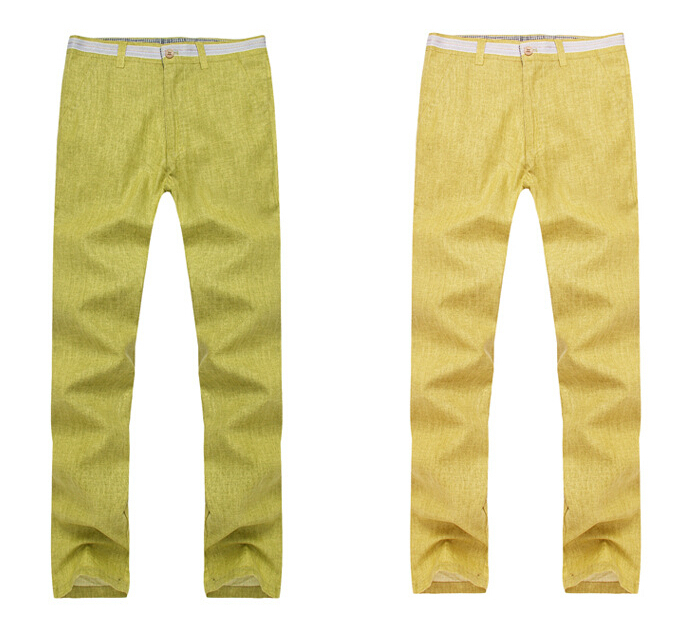 Mens Casual Linen Trousers New Linen Trousers Men's