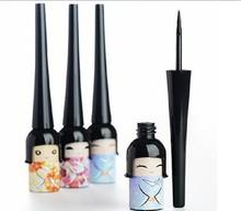 Min Mix Order Cosmetic Waterproof Liquid Eyeliner Pen Makeup in Cute Dool Bottle Women Beauty
