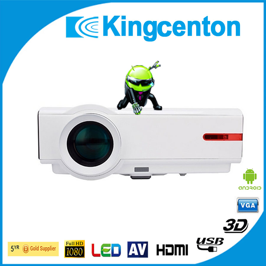 Short Throw LCD 3D Projector 4500 Lumens home theatre 1080p supported pico high lumens - Shenzhen Kingcenton Technology Co. ltd store