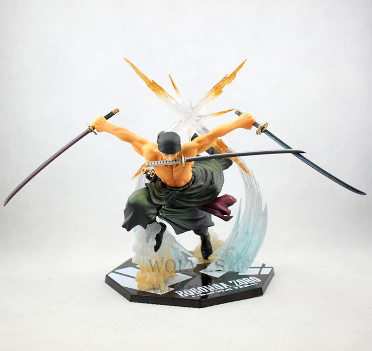 17cm Roronoa Zoro Two Years Later Zero Battle Ver. PVC Action Figure Figurines Manga Anime One Piece Collection Model Toys Boxed - Cartoon&Games store