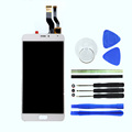 100 New 5 5inch White For meizu m1 Metal LCD Display Touch Screen Digitizer Assembly Replacement