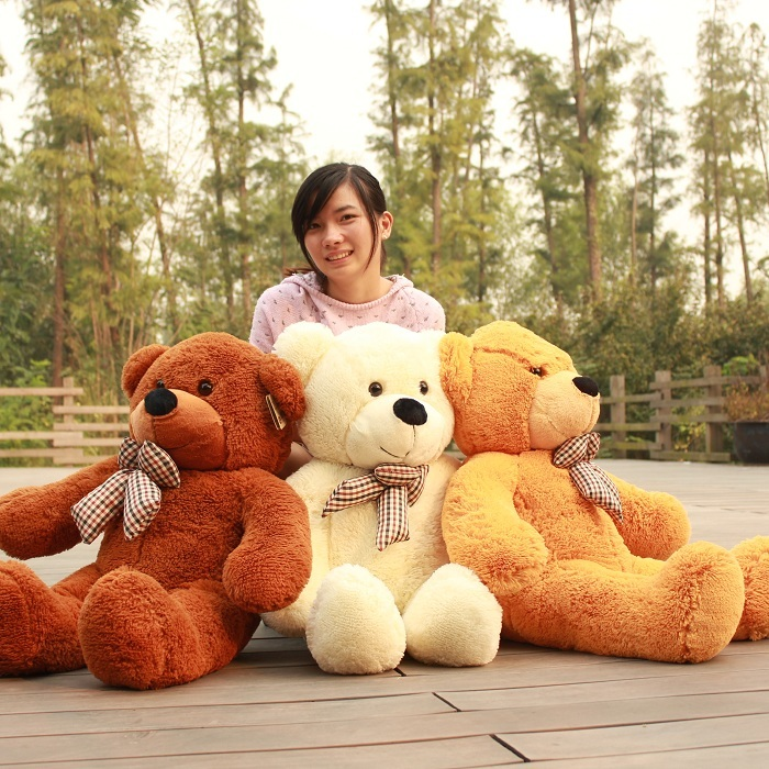0.8m--Plush toys large size80cm / teddy bear 80cm/big embrace doll /lovers/christmas gifts birthday gift - Global Win store