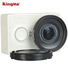 KingMa Original xiaomi yi action sport camera 37mm UV filter lens + lens cap Xiaomi yi sport camera Accessories