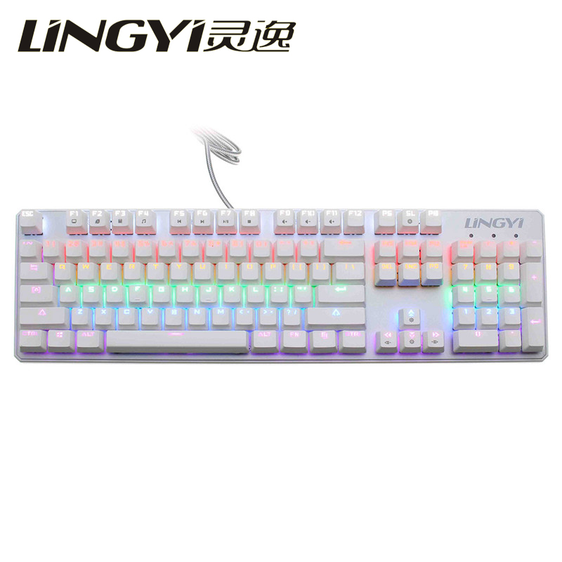 LINGYI K20 Mechanical Touch Feel Gaming Keyboard Pro Gaming Gamer USB Wired Backlit Keyboard Floating for PC for LOL for COD<br><br>Aliexpress