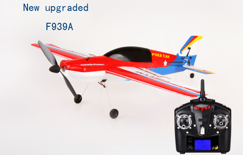 New upgraded Wltoys F939A 2.4G 4CH rc airplane remote control airplane rc glider radio control(China (Mainland))