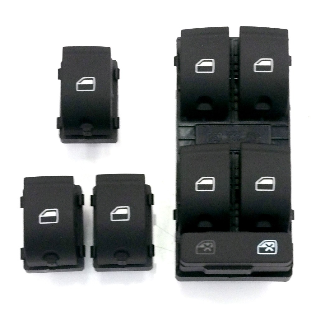 New Electric Window Control Switch Panel For AUDI 2006 2007 A6 C6 set of 4<br><br>Aliexpress