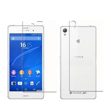 Tempered Glass for Sony Xperia Z3 Screen Protector Front+Back Film for Xperia Z3 D6653 D6603 Protector