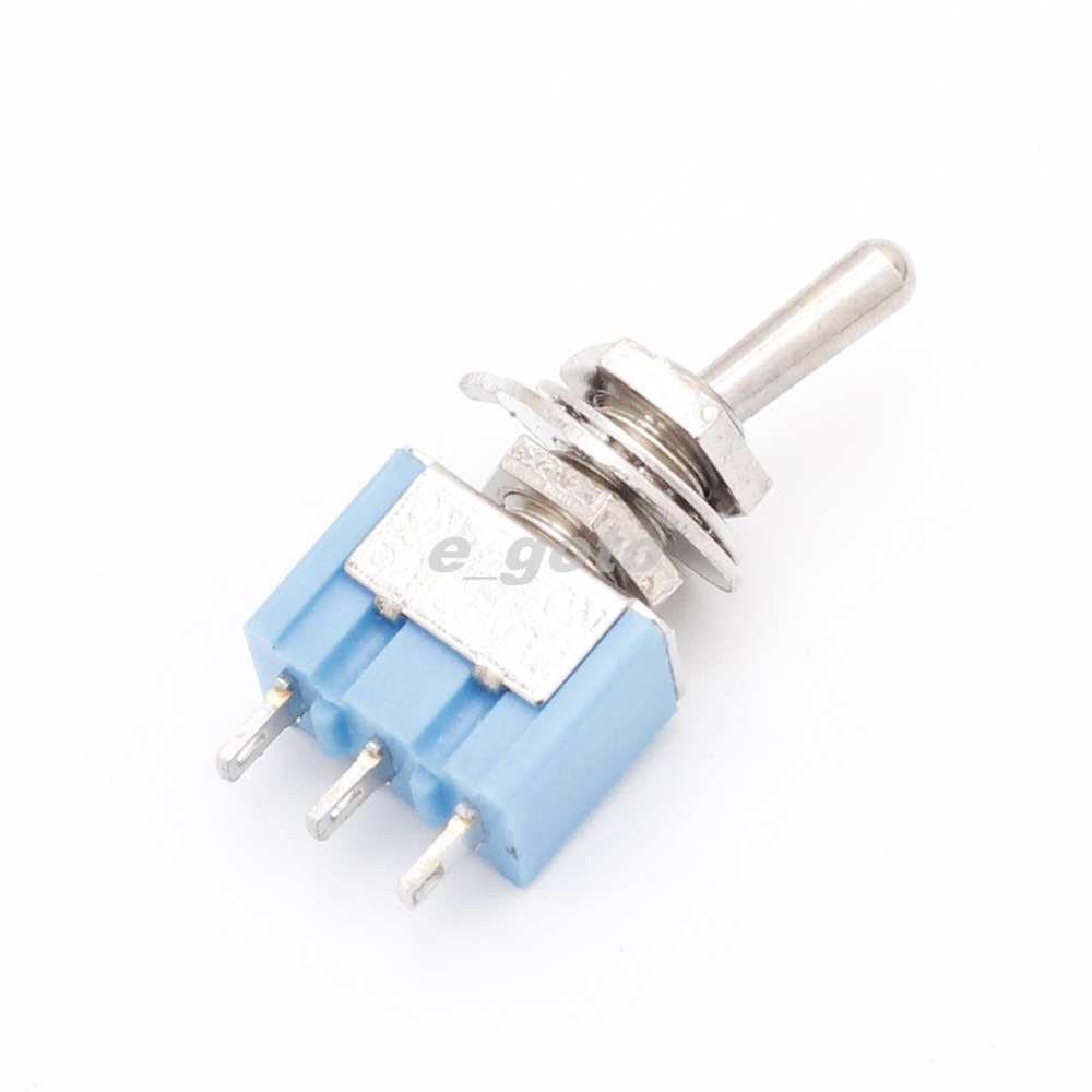 10Pcs 3-Pin Mini Toggle Switches SPDT MTS-102 ON-ON 6A 125V AC<br><br>Aliexpress