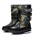 2016 winter warm men s thickening platforms waterproof shoes military desert male knee high snow boots