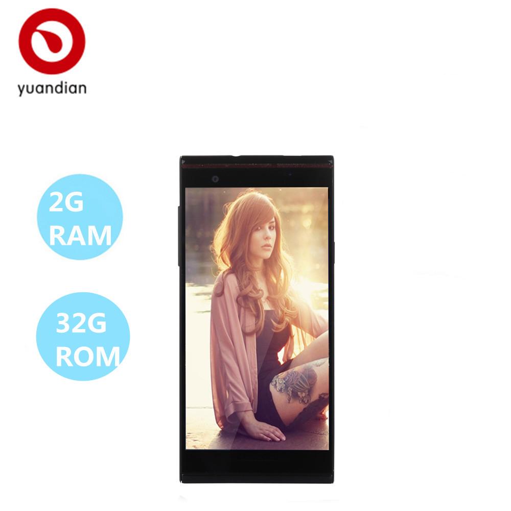 "cell china mobile phones Yuandian original smartphones 2G ram 32G rom 13mp 5.0""1920*1080 otg GPS unlocked 3G wcdma android phone(China (Mainland))"