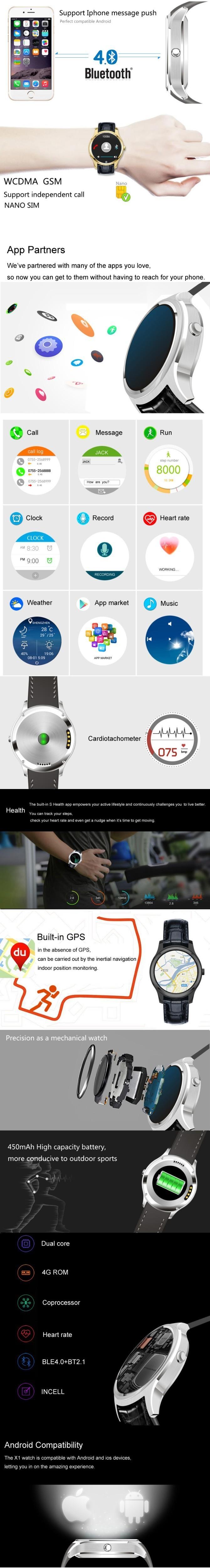 ถูก 2016จัดส่งฟรีk8มินิsmart watchที่คล้ายกันฉบับที่1 d5 android 4.4บลูทูธ3กรัมWiFi GPS S Mart W Atch iOSและA Ndroidมาร์ทโฟน
