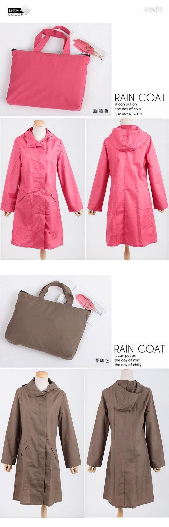 Stylish Raincoats for Spring 2018 m 11