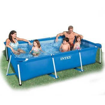High Quality Intex 28272 Frame Pool Swimming Pool Rectangular Frame Pool Family Inflatable