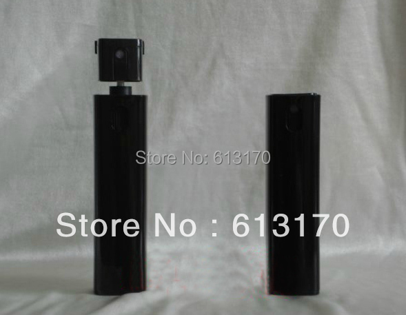 Free Shipping 10ml Glass perfume spray bottle Mini mist sprayer atomizer Bottle travel refillable cosmetic container black color