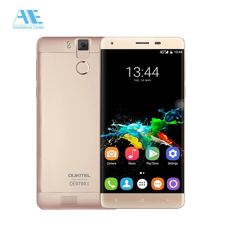 "Oukitel K6000 Pro MTK6753 Octa Core Smartphone 5.5"" FHD 2.5D Screen 3G RAM 32G ROM Cellphone 6000mAh 4G LTE Mobile Phone"