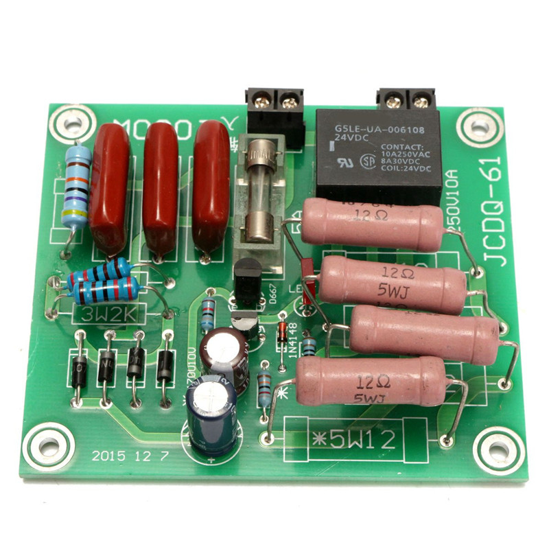 New 1000W 220V Power Amplifier Protection Board Power Delay Soft Start Circuit(China (Mainland))