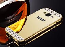 Buy Samsung Galaxy Grand Neo i9060 Luxury Rhinestone Bling Gold Mirror Back Cover Samsung Galaxy Grand Duos i9082 Case for $3.99 in AliExpress store