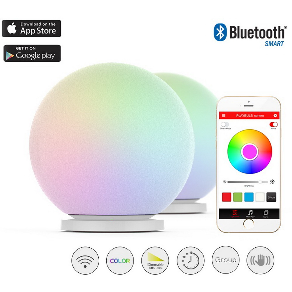 Mipow Playbulb Sphere Smart Color Changing Waterproof