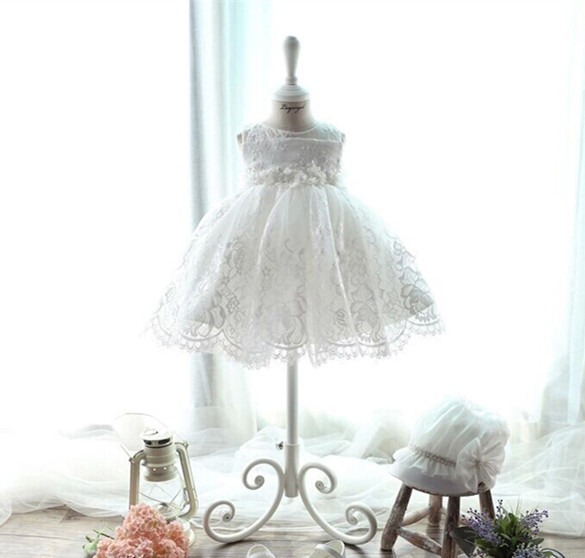 2016 White Embroidery Lace Infant Formal Girl Dress Holy Communion,Birthday Party Easter Outfits,Vestido ,1175 - BBVESTIDO Baby Clothes Store store