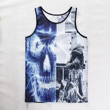 3d Pattern Clothing Allen Iverson Jersey Tank Top Bodybuilding And Fitness Shirt Regatas Clothes Vest For Men Women(China (Mainland))