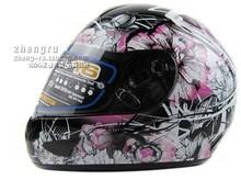 Korea HJC helmet motorcycle helmet CL-16 new full-face helmet Pink Petunia Shock S-XXL(China (Mainland))