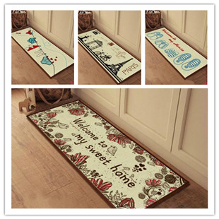 cute knit fluid systems door mat kitchen bedroom carpet