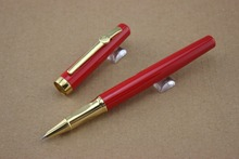 Buy Eternal life Price Spike Red Gold Clip Fine Nib Fountain Pen Gift Set for $2.64 in AliExpress store
