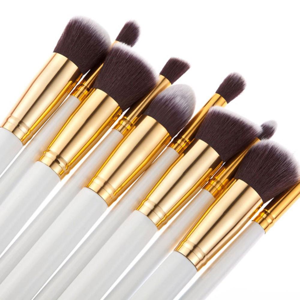 Hot 2Sets=10Pcs Professional Make Up Brushes Foundation Brushes Classic Matte Makeup Brush Set Beauty Makeup Tools & Accessories