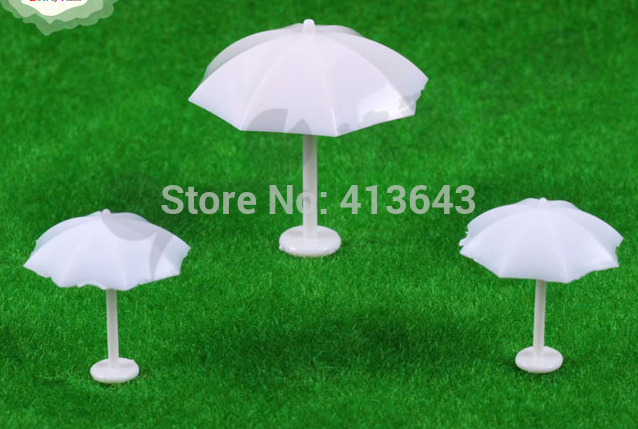free shipping 100pcs   1;100  Scale  rain layout  Model  umbrella for Architecture models building<br><br>Aliexpress