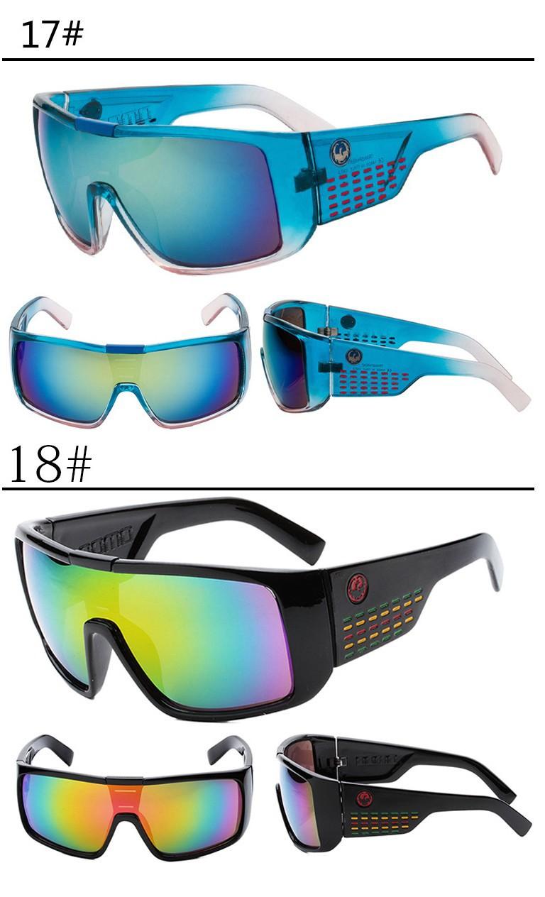 Топ моды Велоспорт очки мужчин/женщин бренда multi ретро езда очки спортивные цветные красочные ртути отражатель очки