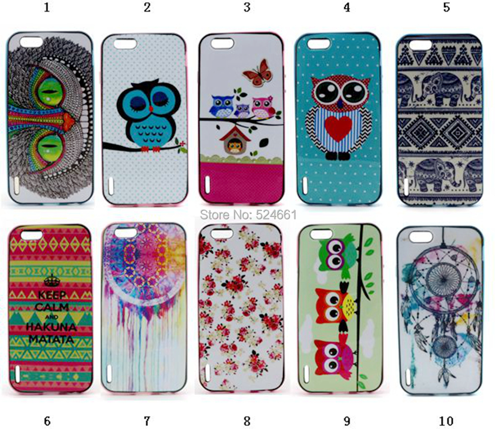 Fashion Owl Tower Flag TPU Silicone Soft Case Apple iphone 6 iphone6 4.7 inch Back Skin Cover Cell Phone Protect ShockProof Bag - Shenzhen Wei Jia Xing Electronic Co., Ltd. store
